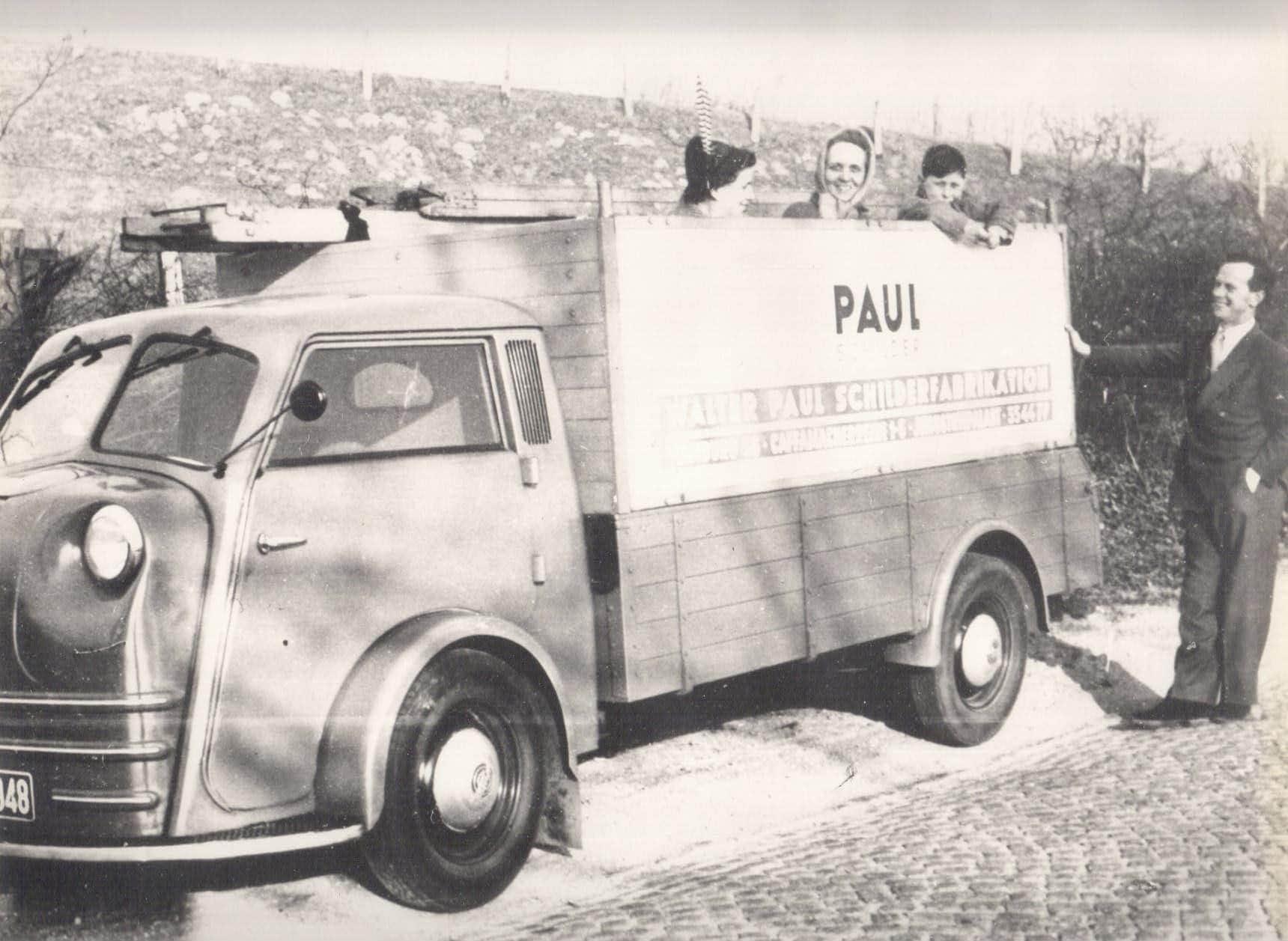 Montagewagen von 1948