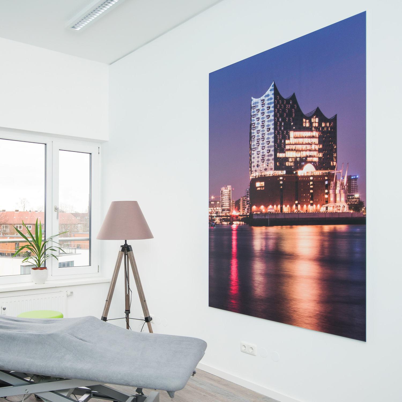 Hamburg Bilder als Wanddekoration für Praxen und Büros
