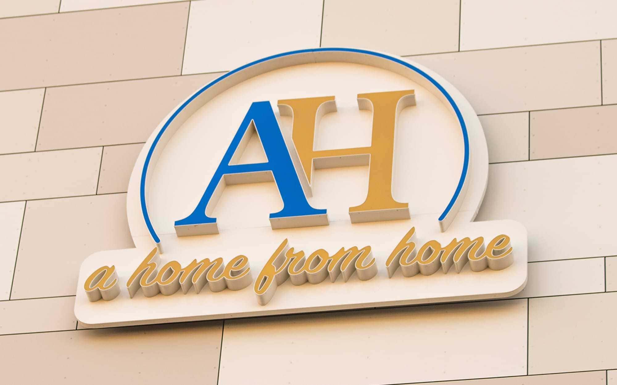 LED-Buchstaben in Profil 5 gefertigt. Die Buchstaben haben einen Körper aus lackiertem Aluminium und Fronten aus Plexiglas. Gefertigt für das Apartment Hotel in Hamburg